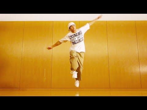 ブレイクダンスの基本「アップロック」やり方・練習サンプル