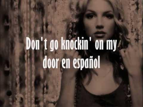 Britney Spears - Don't Go Knockin' On My Door En Español