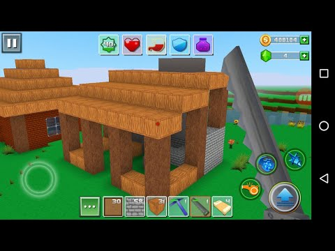 Exploration Lite Craft 'CanadaDroid' Android Gameplay #9   Learn How To Make A Blacksmith Home
