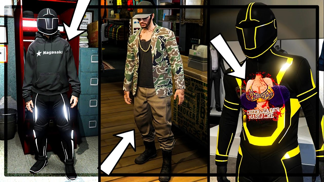 GTA 5 Online - How To Save CEO Outfits After Patch 1.36 + 2 Cool Tron Outfit Glitches! - YouTube