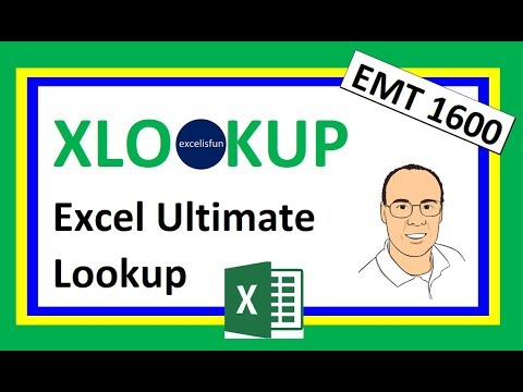 Excel XLOOKUP Function – Comprehensive Lessons – 27 Examples - Excel Magic  Trick 1600