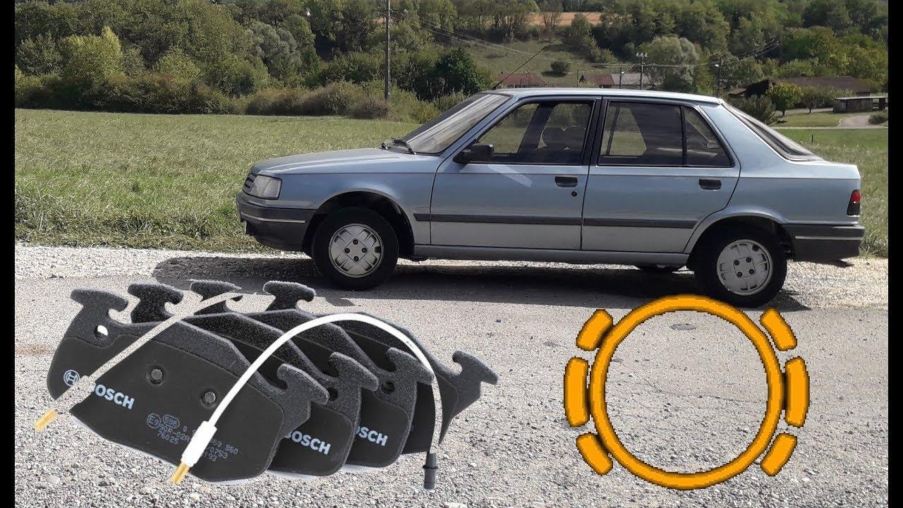 Plaquettes de frein avant Peugeot 205