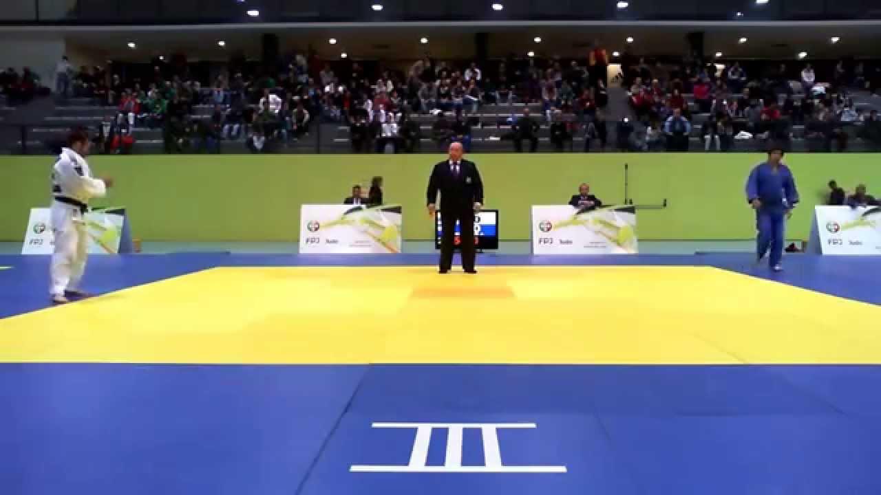 Judo :: Sergiu Oleinic vencedor do Masters da Federação Portuguesa de Judo na categoria de -66kg a 18/01/2015