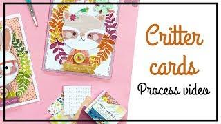 PINK PAISLEE Design Team - Scrapbooking Process - Critter Cards