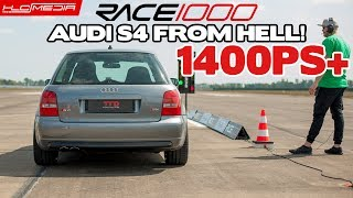 RACE 1000 Audi S4 1500PS from Hell! Bastian von TTD Turbotechnik - HLCMEDIA