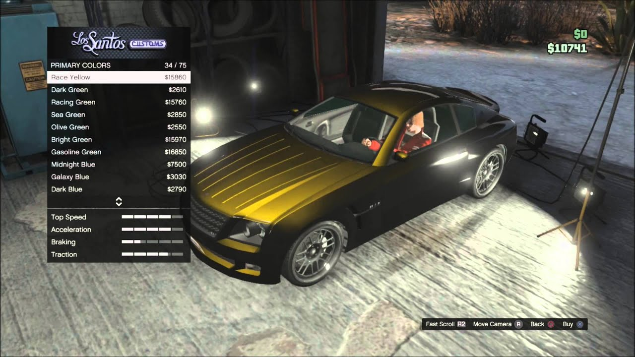 colour car metallic : Gta 5 Online Tips Ep 4 How To Paint Cool Metallic And Pearlescent Colors On Cars Hd Youtube