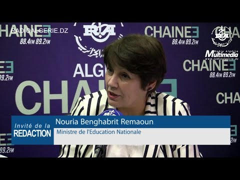 Nouria Benghabrit Remaoun Ministre de l'Education Nationale