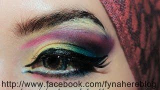 tutorial : dramatic arabic makeup Thumbnail