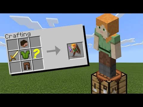 How To Craft ALEX In Minecraft