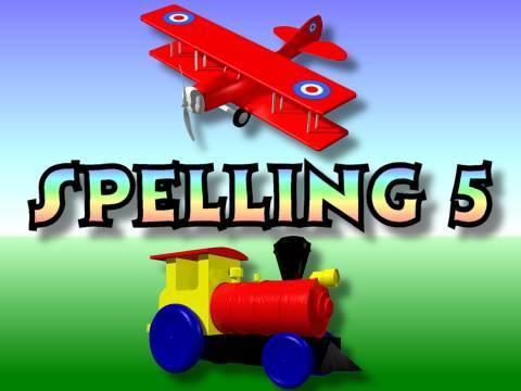Children's: Spelling 5 - Body Parts