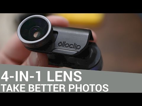Improve Your iPhone Photography with the Olloclip 4-in-1 Lens System