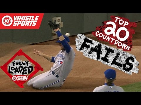 Biggest Baseball Fails of 2016 | MLB Bloopers #FullyLoaded