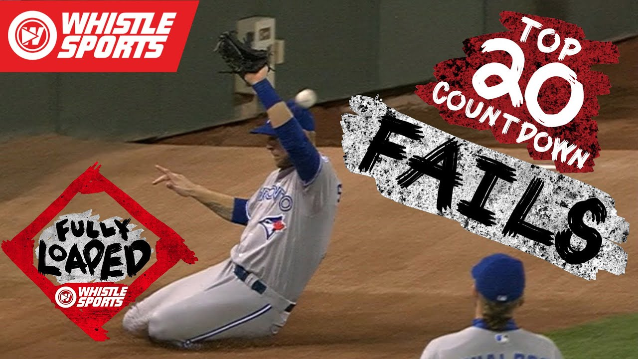 Largest Baseball Fails of 2016 | MLB Bloopers #FullyLoaded