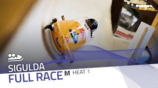 Sigulda | BMW IBSF World Cup 2018/2019 - 2-Man Bobsleigh Heat 1 | IBSF Official