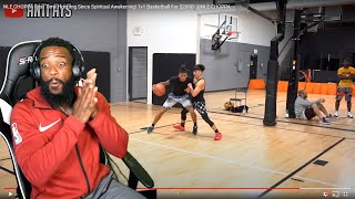 NLE CHOPPA SURPRISED ME! 1v1 Anti  Basketball For $2000! @NLE CHOPPA