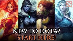 Top 10 Best and Easiest DotA 2 heroes for beginners