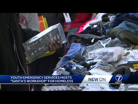 Youth Emergency Services helps homeless with holiday cheer
