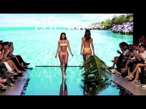 Модные купальники Lounge 2020  года - модный бикини показ в Майами 2019