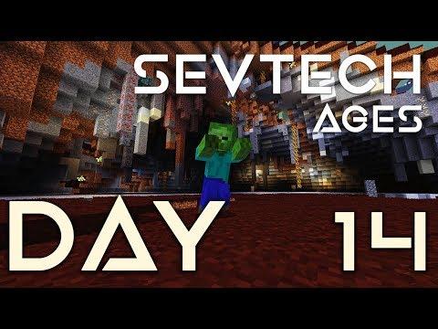 SevTech: Ages - EP 14 | Twilight Forest Minoshroom & Hydra