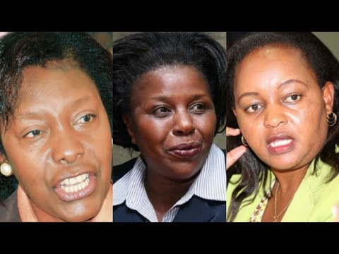 Women enjoying a historic moment in Kenya's politics
