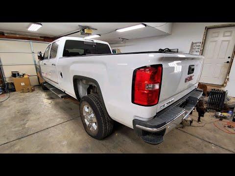 Rebuilding A Rolled 2018 GMC Sierra 3500HD Part 25