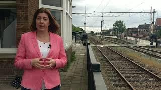 Wethouder Sandra Diepstraten van het CDA stelt zich voor aan Gilze en Rijen