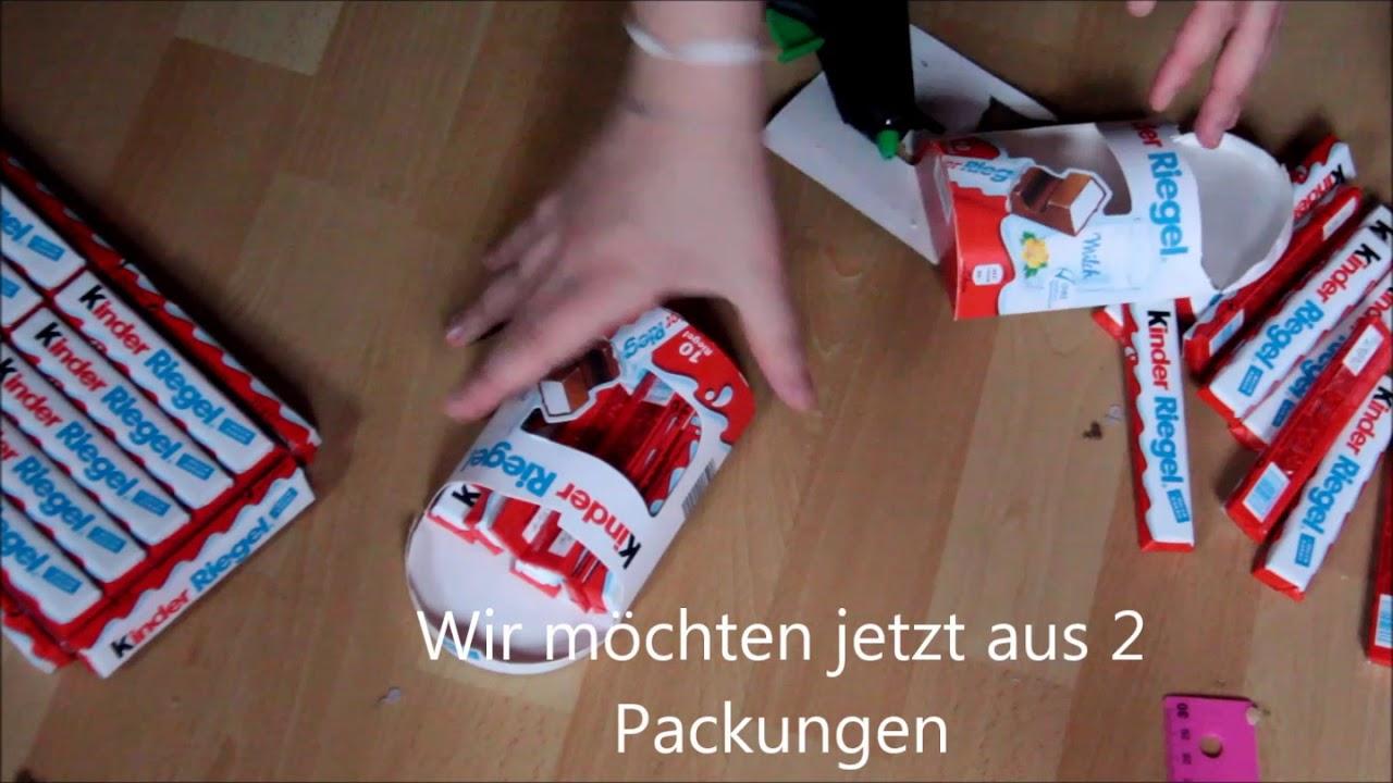 Kinder Riegel Zug Schokoladenbombe Youtube