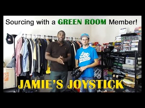 Mr. Shoe Guy introduces Green Room Member - Jamie's Joystick | Video Games | Shoes