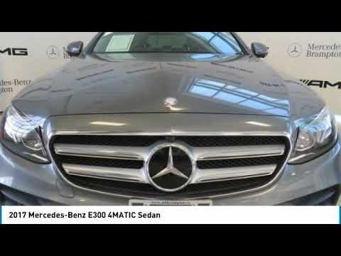 2017 Mercedes-Benz E300 4MATIC Sedan FOR SALE in Brampton ...