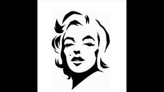How to draw Marilyn Monro - 6 steps