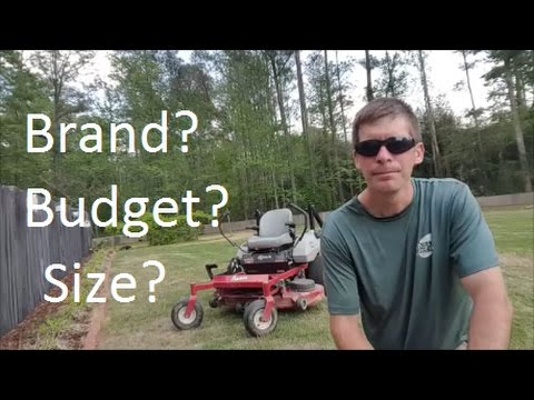 Thoughts on Buying a Zero Turn Mower for Lawn Business or Personal