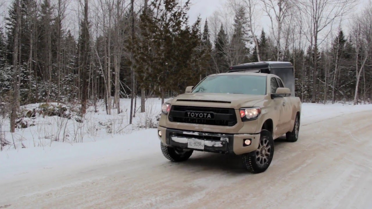 2016 toyota tundra trd pro review ctkc road tests youtube. Black Bedroom Furniture Sets. Home Design Ideas