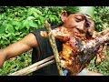 Survival Skills | Menangkap, memasak dan makan ayam bakar di hutan