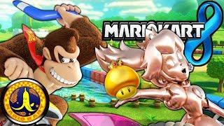 Mario Kart 8: 2 Player VS Danielle! New Pink Gold Peach DK 100cc Gameplay Walkthrough PART 14 Wii U