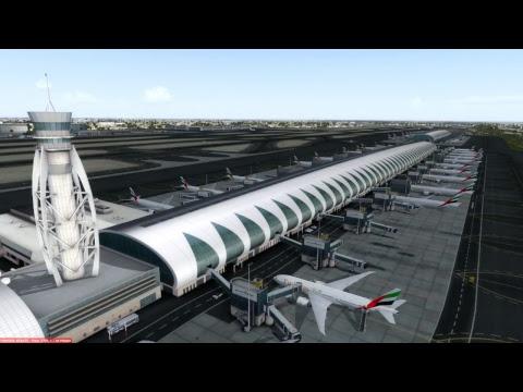[P3Dv3.4] EK106 / ATH-DXB / Boeing 777-300ER