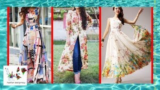 Latest Top Floral Print Classic Maxi Dress Designs Ideas For Girls - Fashion Design Now