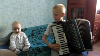 Clementi Sonatina, accordion