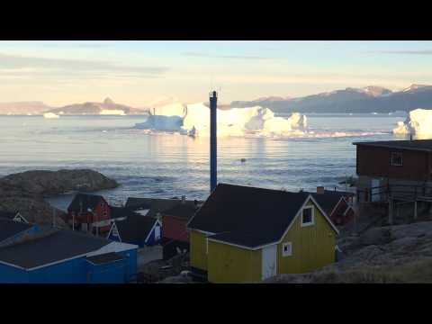 Iceberg Tsunami in Uummannaq, Greenland