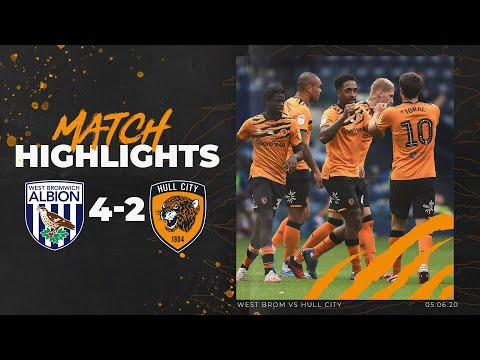 West Bromwich Albion 4-2 Hull City | Highlights | Sky Bet Championship