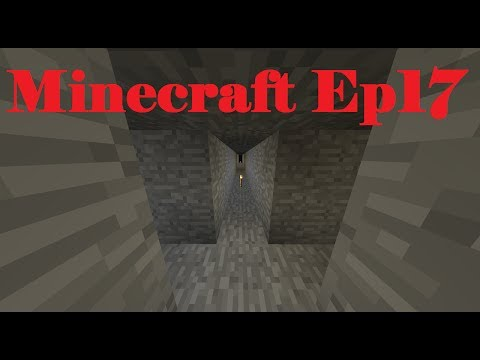Let's Play Survival Minecraft Ep17 Mining and Enchanting