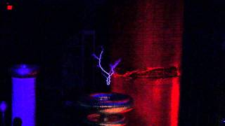 Tesla Coil Making Music- Happy Birthday