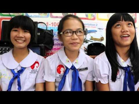 Vietnam Charity School students (DALC Bien Hoa, VN)