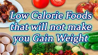 Foods that won't make you Gain Weight; Check out here | Boldsky