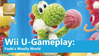 Wii U-Gameplay: Yoshi's Woolly World
