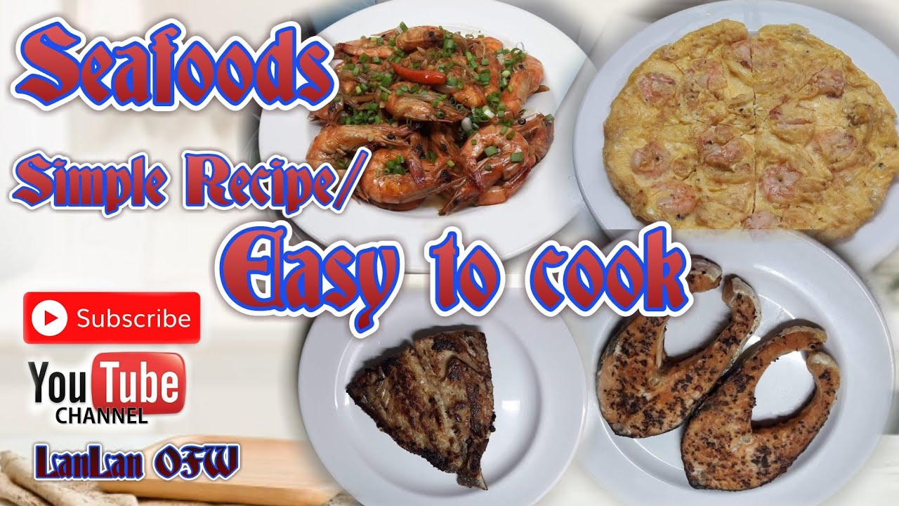 #17PREMIER Seafoods simple recipe/Easy to cook/Pasok sa budget