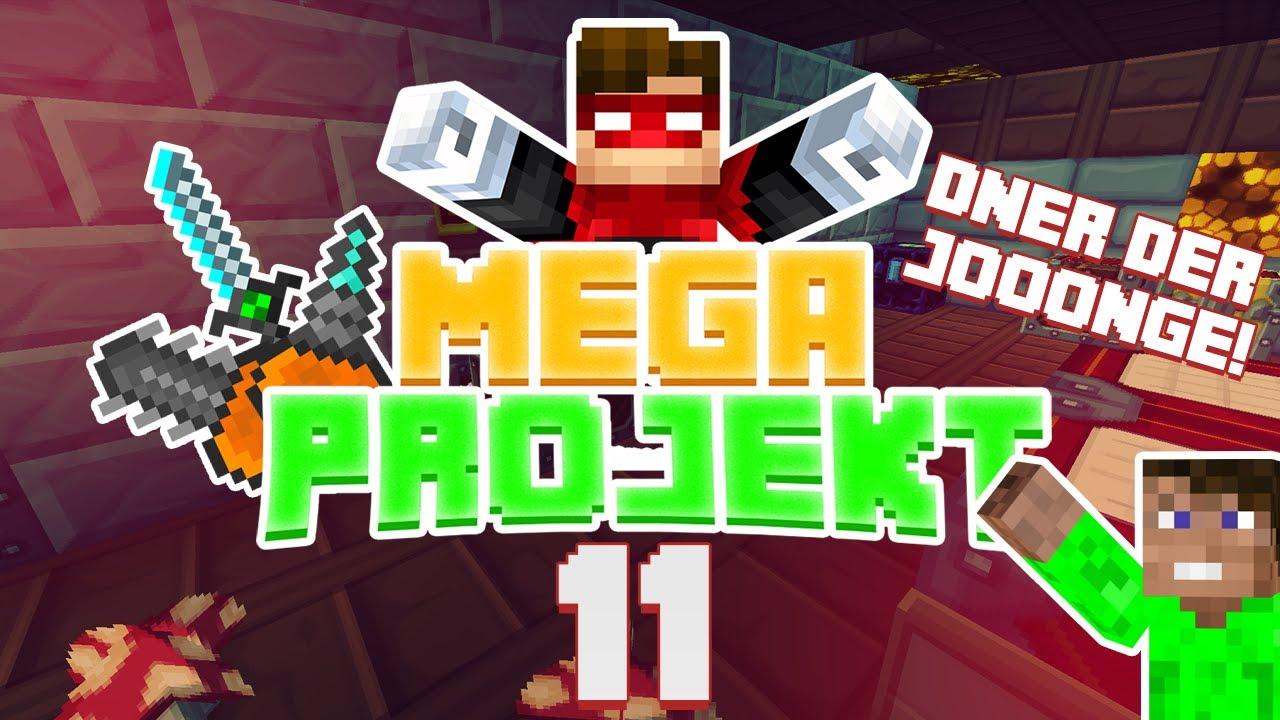 Dner joonge  DNER DER VERRÜCKTE JOONGE?! - Minecraft Mega Projekt #011 (Rotpilz ...