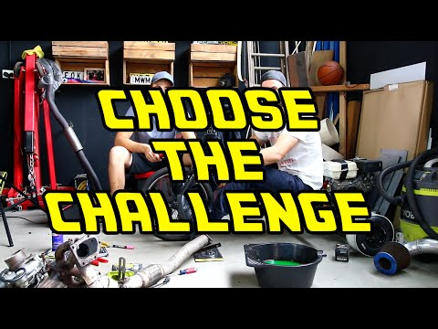 Choose The Challenge + Turbo V8 Stagea Build from YouTube · Duration:  4 minutes 6 seconds