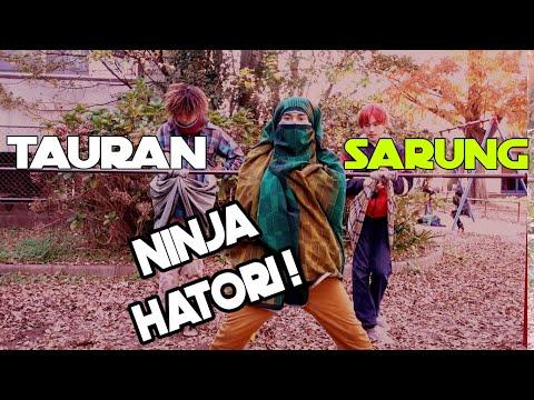 ORANG JEPANG PAKAI SARUNG INDONESIA  BUAT TAURAN AND MAIN AYUNAN ! KOCAK ! Part 2 | PERANG SARUNG