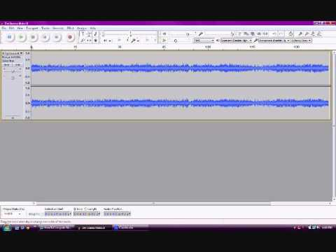 How To - Create an Instrumental on Audacity