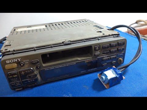 Schema Elettrico Xr 600 : Add aux port to sony xr c rds car audio system youtube